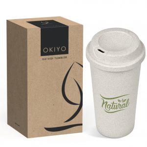 Okiyo Katagi Wheat Straw Tumbler - 450Ml