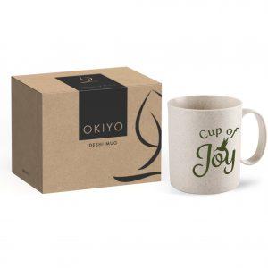 Okiyo Deshi Wheat Straw Mug- 300Ml