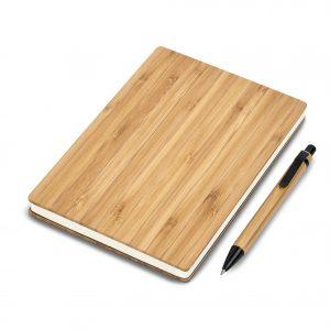 Okiyo Yahari Bamboo A5 Notebook Giftset