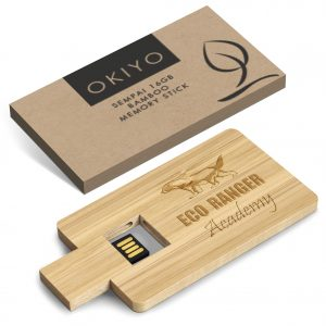 Okiyo Sempai 16GB Bamboo Memory Stick