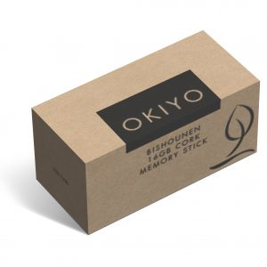 Okiyo Bishounen Cork Memory Stick - 16GB